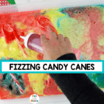 Colorful Fizzing Candy Canes