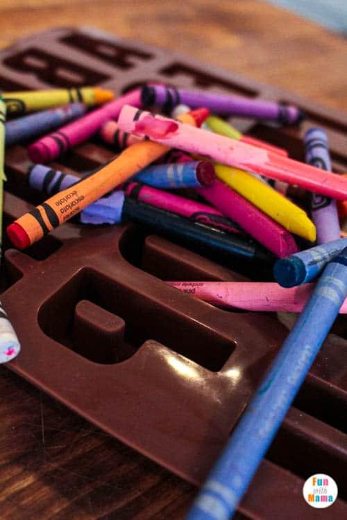 melted crayons fun
