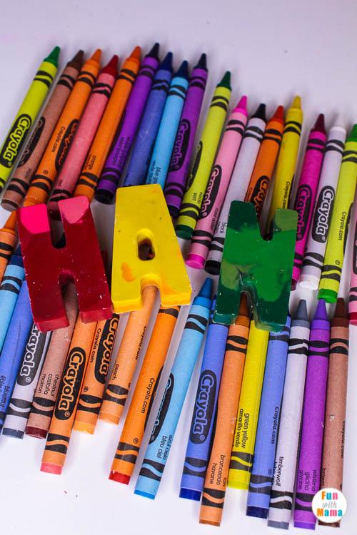 letter activity for kids