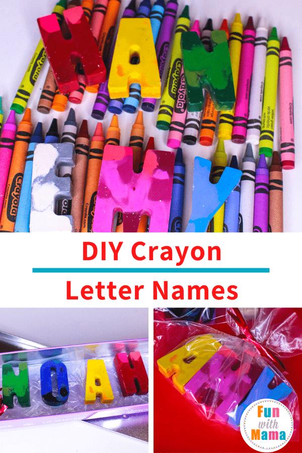 alphabet crayons art