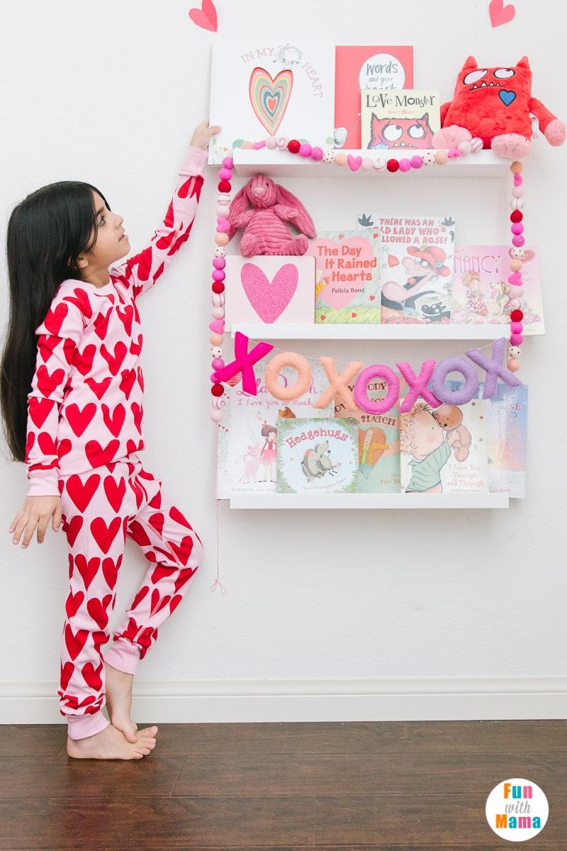 Valentine's Day pajamas for girls