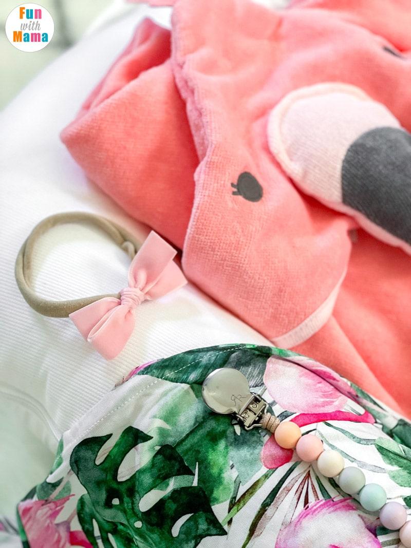 flamingo baby clothing