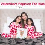 Valentine Pajamas For Kids