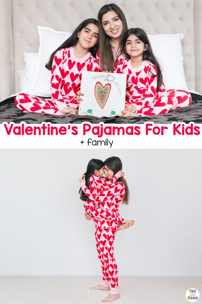 Valentine's Pajamas for Kids