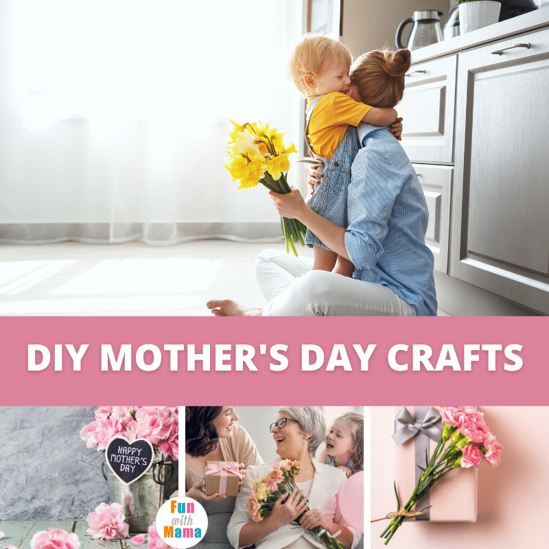 HOMEMADE MOTHER'S DAY CRAFTS