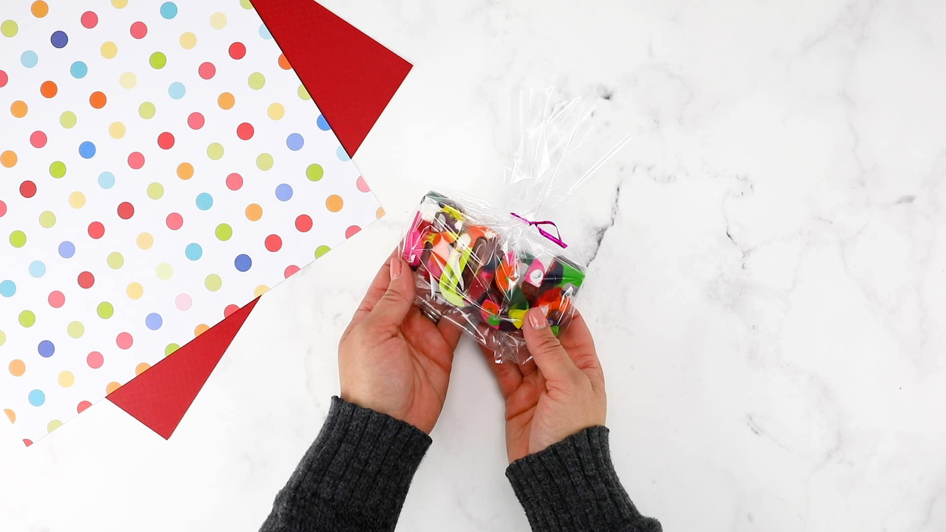 fun gift idea with crayons