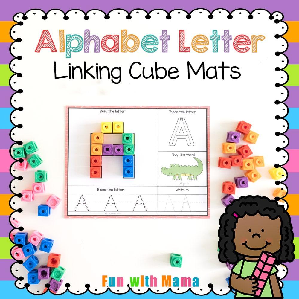 alphabet cubed mats