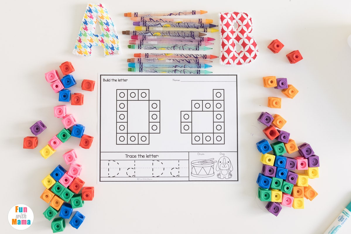 cube counting mats
