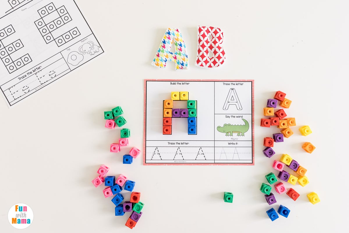 alphabet mats for early learners