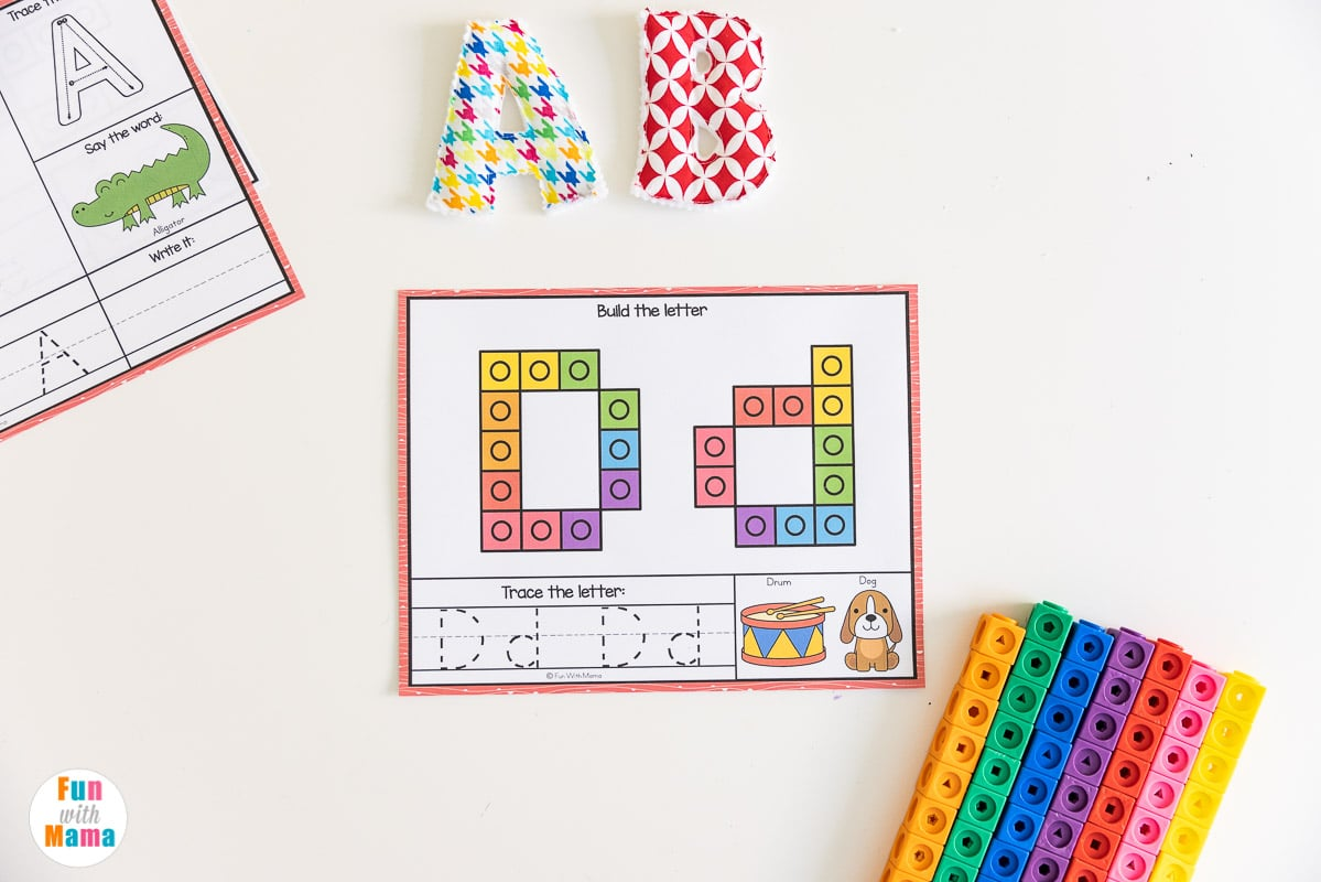abc counting mats