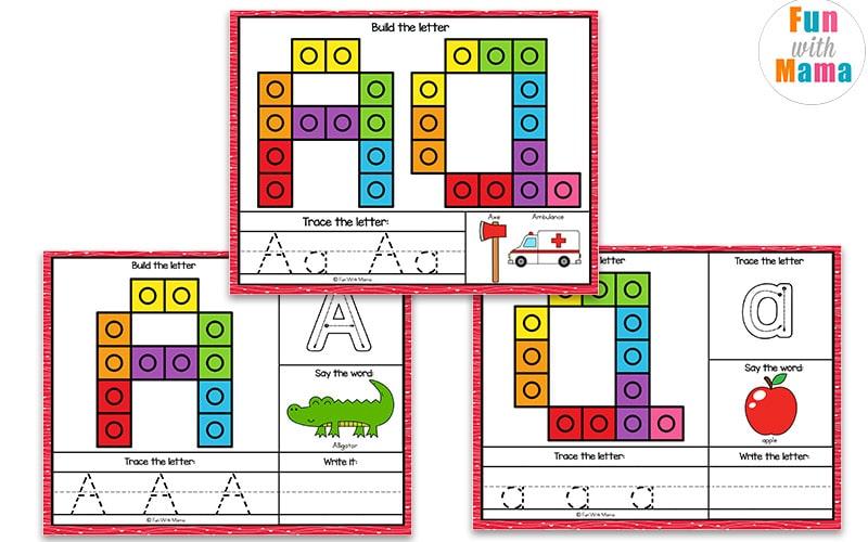 alphabet learning mats for kids