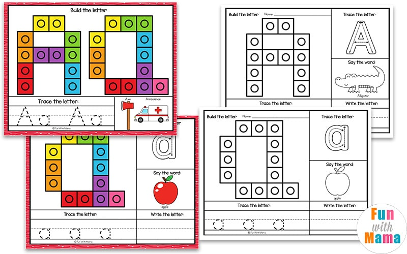 counting mats for kids