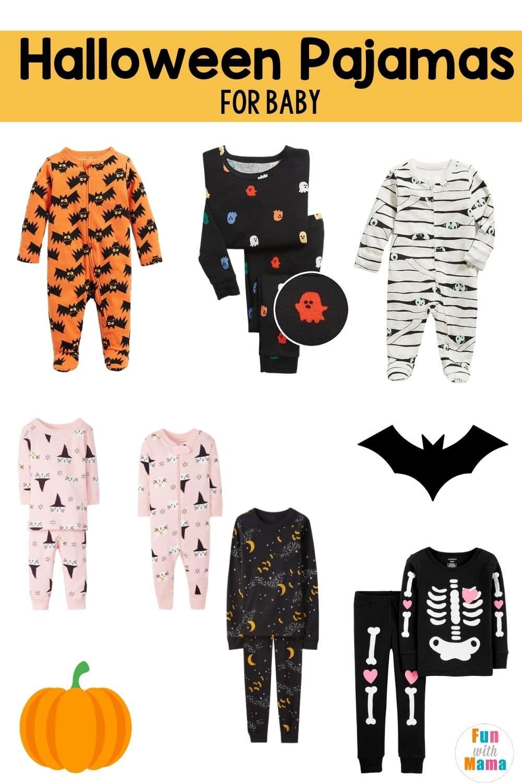 Halloween baby pajamas