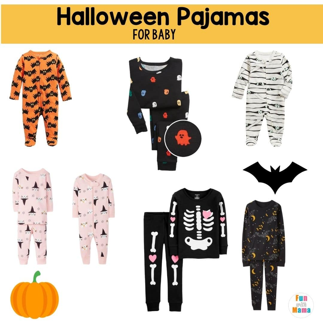 Baby pajamas for Halloween