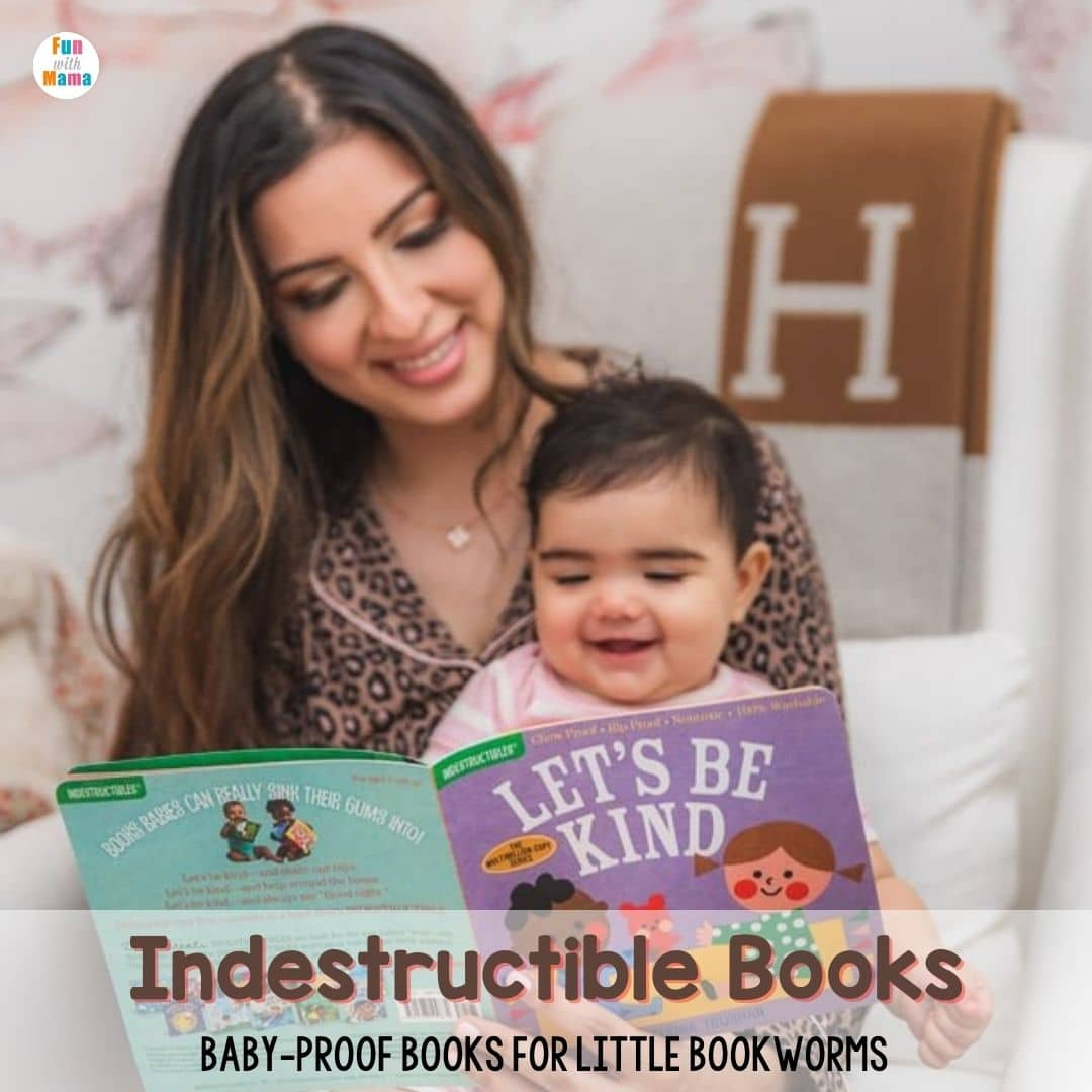 Baby-proof Indestructible Books